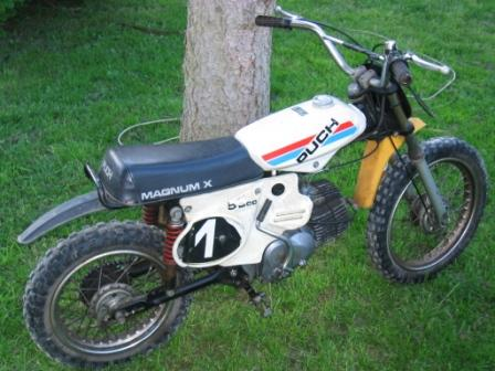 Pictures of Puch - type Magnum X | Vester Strødam Engine
